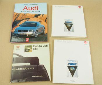 Audi Typen Geschichte Rad der Zeit Zeitprofile 1873 - 1999