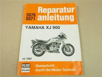 Yamaha XJ900 Reparaturanleitung Werkstatthandbuch Wartung Instandhaltung ab 1982