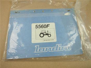 Landini 5560F Schlepper Ersatzteilliste 1989 Parts List Pieces Rechange Ricambio