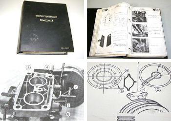 Peugeot 604 V6 SL TI STI Werkstatthandbuch 1975 - 1983 Reparaturanleitung Band 1