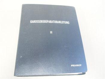 Peugeot 104 304 305 504 505 604 Karosserie Reparaturanleitung Werkstatthandbuch