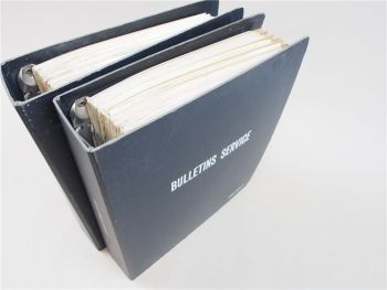 Peugeot 104 204 304 404 504  Service Bulletins 1973 - 1977 Werkstatthandbuch