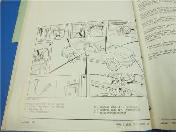 Fehlersuche Ford Sierra 1987 Fiesta 1989 Prüfanleitung Elektronik Diagnose