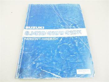 Werkstatthandbuch Suzuki Samurai SJ410 Jeep Reparaturanleitung 1985
