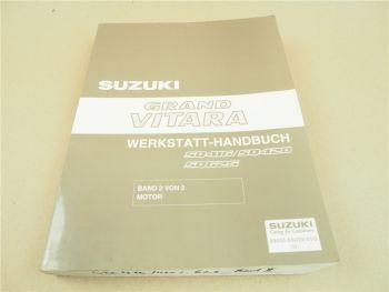 Suzuki Grand Vitara Reparaturanleitung Werkstatthandbuch 2003 Band 2 Motor