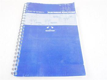 SsangYong Actyon 2006 Elektrische Schaltpläne Stromlaufplan Schaltplan