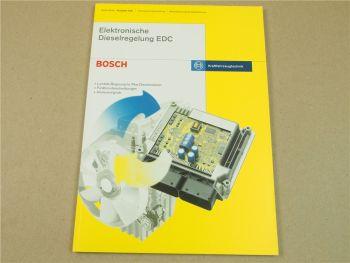 Bosch Elektronische Dieselregelung EDC Schulung Werkstatthandbuch 2001