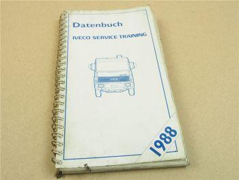 IVECO Datenbuch Service Training 1988 50.8 60.8 155.14 135.14 60.11 145.17 175.1