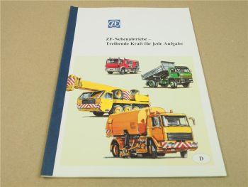 ZF Nebenantriebe N71 130 353 36 221 NMV 130 221 NS 42 Handbuch Schulung