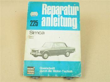 Chrysler Simca 1301S 1501S Reparaturhandbuch Reparaturanleitung