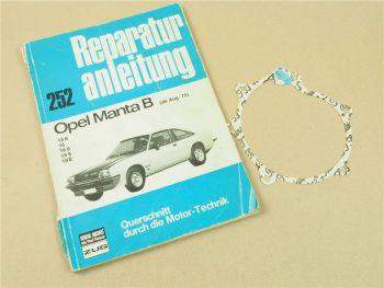 Opel Manta B ab August 1975 Reparaturanleitung Werkstatthandbuch