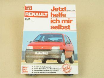 Renault Clio 1 ab 1991 Jetzt helfe ich mir selbst Reparaturanleitung