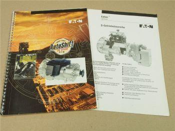 Eaton Fuller Autoshift 16 Getriebe Schulungshandbuch Werkstatthandbuch Prospekt