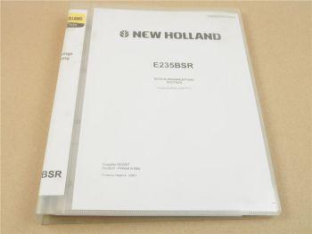New Holland E235 BSR BSRLC BSRNLC Raupenbagger Betriebsanleitung Kobelco