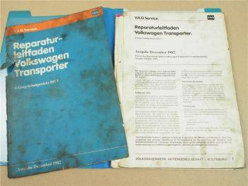 VW Transporter T3 4-Gang Schaltgetriebe 091/I Kupplung Reparaturleitfaden 1988