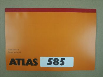Atlas 585 Ersatzteilliste Spare Parts List