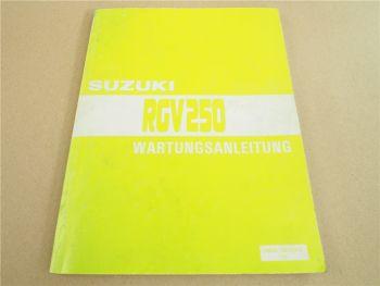 Suzuki RGV250 Reparaturanleitung Werkstatthandbuch Wartungsanleitung