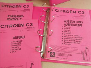 Citroen C3 Karosserie Ausstattung Werkstatthandbuch Reparaturanleitung ab 2002