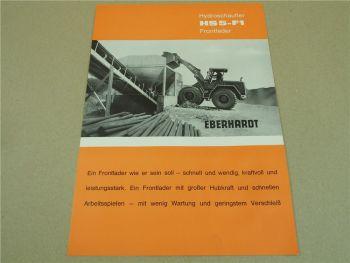 Prospekt Eberhardt HS5-F1 Frontlader 70 PS 1964