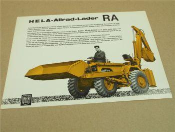 Prospekt Lanz Hela Allrad Lader RA mit 42 PS