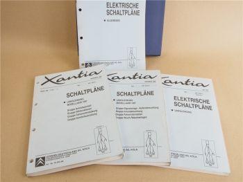 Werkstatthandbuch Citroen Xantia Elektrische Schaltpläne Elektrik Modell 1997