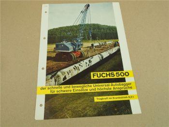 Prospekt Fuchs 500 Universal Autobagger von 1964