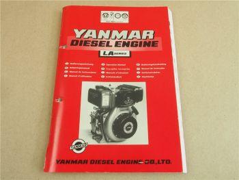 Yanmar LA Serie Dieselmotor Betriebsanleitung Operation Manual Driftshandbok 95