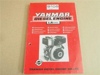 Yanmar LA Serie Dieselmotor Betriebsanleitung Operation Manual Driftshandbok 96