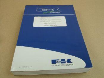 FK Fiat Kobelco E20SR E22SR E25SR Evolution Parts List Ersatzteilliste 9/2003