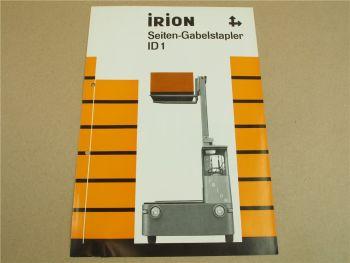 Prospekt Irion LG 25/08/00 30/10/00 30/12/00 30/14/00 ID 1 von 1968