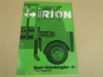 Prospekt Irion DFG 40/12/00 40/14/00 35/16/00 50/12/00 - 60/14/00 55/16/00 S