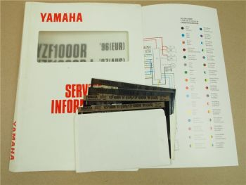 Yamaha YZF1000R YZF1000RJ 1996-1997 Service Information Wartung Reparatur