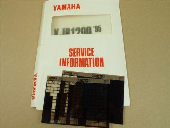 Yamaha XJR1200 1995 Service Information + Wartungsanleitung XJR1200SP 1997