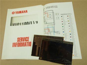 Yamaha XVS1100 L 1999 5EL Service Information Wartungsanleitung