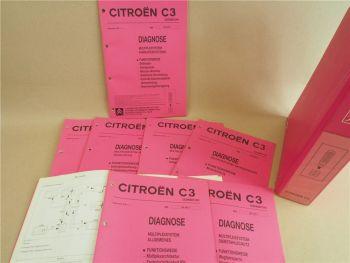 Werkstatthandbuch Citroen C3 Multiplexsystem Diagnose Fehlersuche 2001