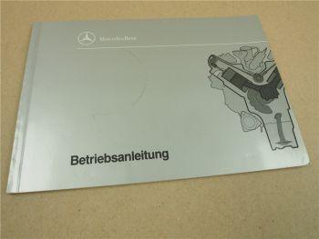 Mercedes Benz OM 441 442 443 444 A LA Motor Betriebsanleitung Bedienung Wartung