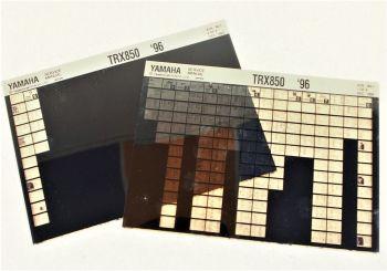 YamahaTRX850 1996 4UM Wartungsanleitung Microfich Microfilm Service Anleitung