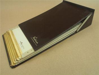 Vertica Durable 5619 Schuppentafeln 5690 Steckkarten für Microfiche Microfilm
