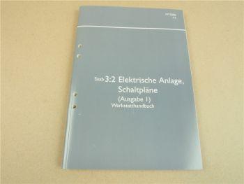 Saab 9-5 YS3F 2006 Schaltpläne Schaltplan Elektrik Werkstatthandbuch