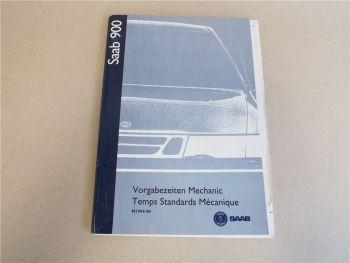 Reparaturanleitung Saab 900 1998 Werkstatthandbuch Vorgabezeiten Reparaturen