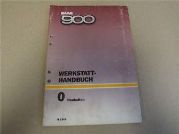 Saab 900 Neuheiten 1986 Technik Schaltpläne Werkstatthandbuch