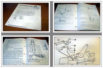 Deutz 4507C - 7807C Handbuch Regelhydraulik Kraftheber K46 und SD80 1982