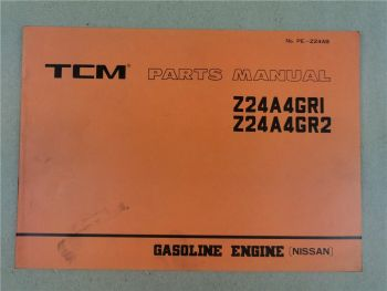 Nissan N24A4 GR1 GR2 Engine Parts List TCM FHG20N 25N 30N