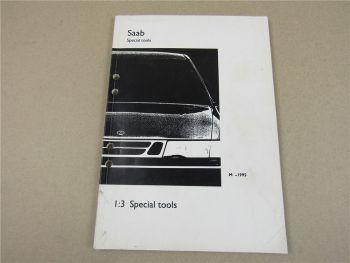 Saab Werkstatthandbuch 1995 Spezialwerkzeug Special Tools Produktkatalog