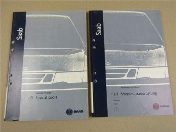 Saab Werkstatthandbuch 1999 Werkstattausrüstung Spezialwerkzeug Produktkataloge