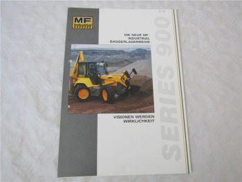Prospekt Fermec MF Series 900 Baggerlader 1993