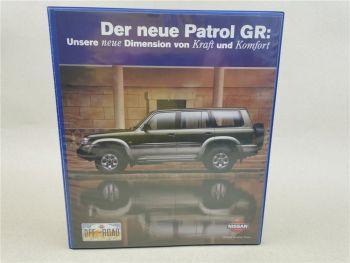 Nissan der neue Pathfinder Patrol GR Produkteinführung 1998 mit 49 Seiten