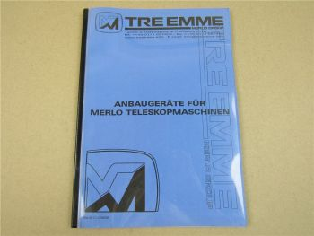 TRE EMME Anbaugeräte für Merlo Teleskopmaschinen 3/2003 Katalog