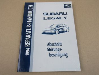 Subaru Legacy 1994 Werkstatthandbuch Störungsbeseitigung Reparaturanleitung