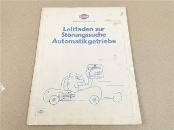 Nissan 280ZX S130 Störungssuche Automatikgetriebe 3N71B Fehlersuche 1980